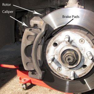 Rotor-brake-pads
