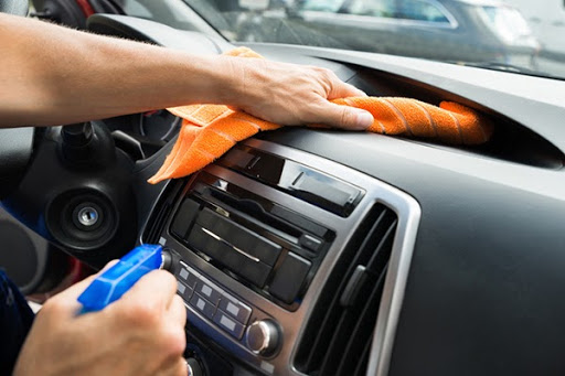 Clean the dashboard area