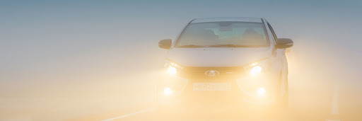 front fog lights in car